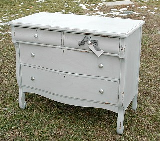 Antique Dresser   Chest Of Drawers   Bureau
