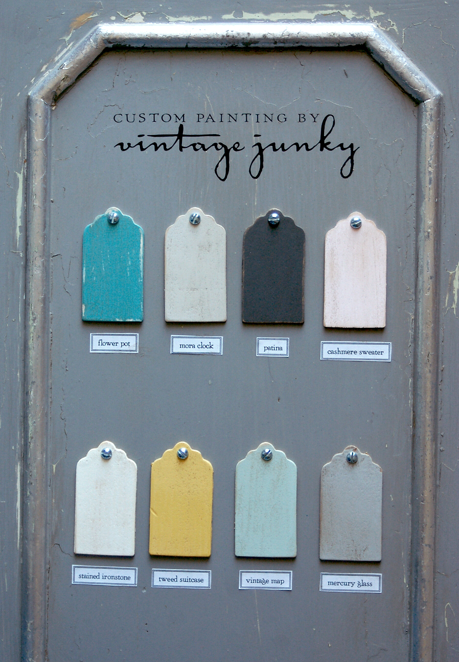 Vintage Junky Signature Furniture Paint Color Line